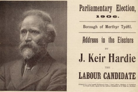 James Keir Hardie, first Leader of the Labour Party