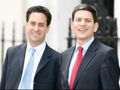 The next leader of the Labour Party and his brother