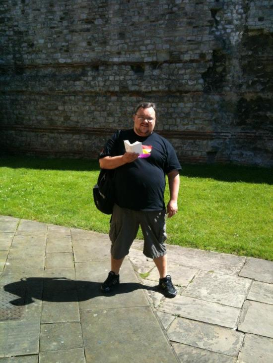 4. Rob started his history of London at the Roman Wall where he read Psalm 127 to the Emperor Trajan