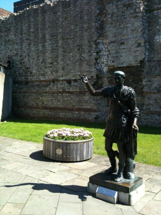 5. The Emperor Trajan was suitably impressed.
