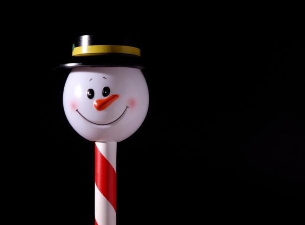 snowmanonastick
